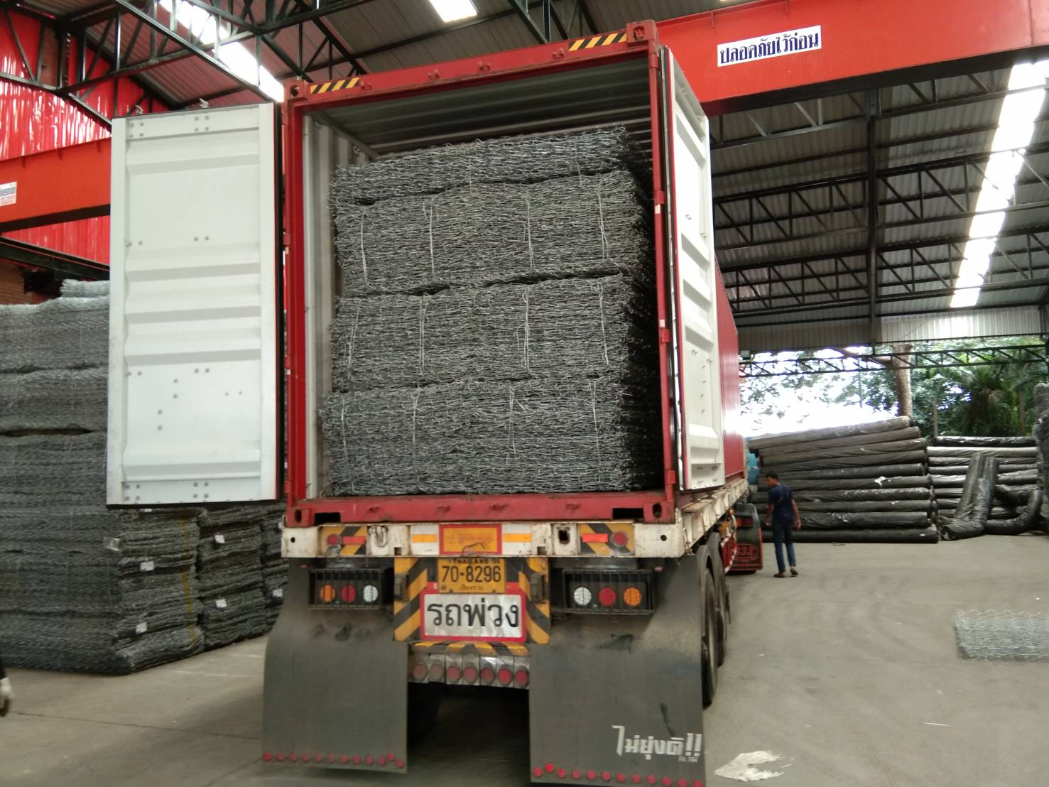10×12, 3 เกลียว, gabion, geotextile, PVC, กล่องเกเบี้ยน, กล่องเกเบี้ยน PVC, กล่องแกเบี้ยน, เกเบี้ยน, เกเบี้ยน แมทเทรส, แมทแทรด, ใช้งาน 02